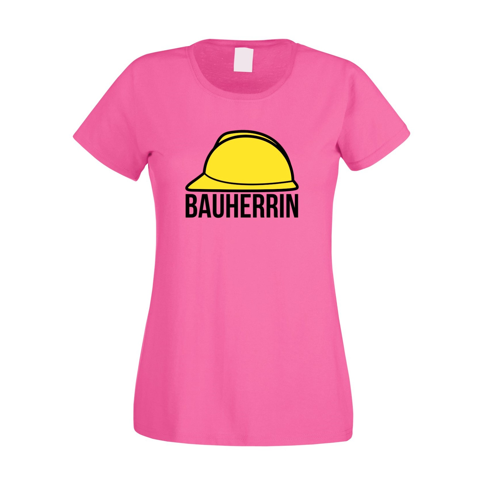 damen t shirt bauherrin helm richtfest hausbau gleichenfeier bau baustelle ebay. Black Bedroom Furniture Sets. Home Design Ideas