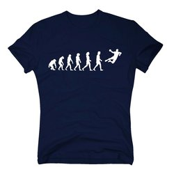 Herren T-Shirt - Handball Evolution - Hobby Team...
