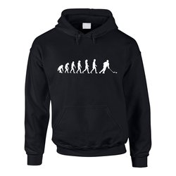Herren Hoodie - Ice Hockey Evolution - Hobby Sport...