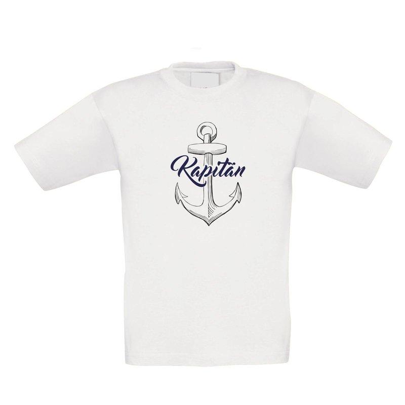 Kinder T-Shirt - Kapitän