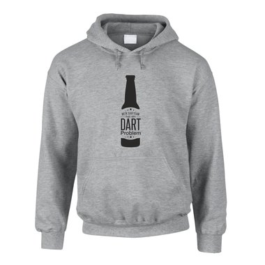 Herren Hoodie - Mein Saufteam hat ein Dart Problem - Hobby Sport Feiern Party