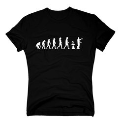 Evolution Zombie - Herren T-Shirt