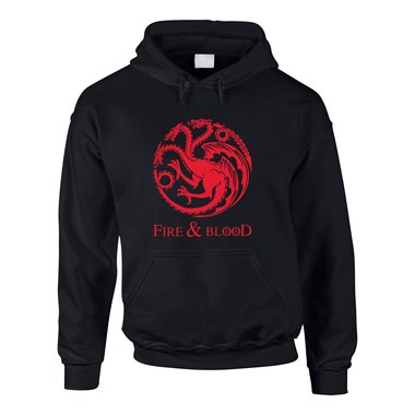 Game of Thrones - Fire & Blood - Targaryen - Herren Hoodie