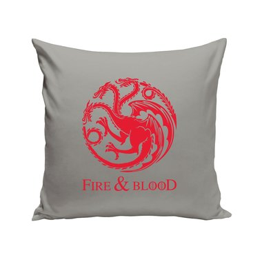 Game of Thrones - Targaryen - Fire & Blood - Drache - Dekokissen