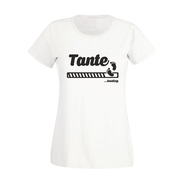 Tante loading - Damen T-Shirt
