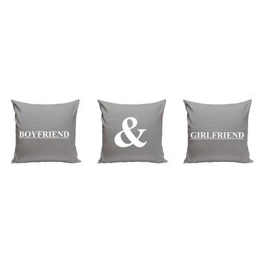boyfriend and girlfriend dekokissen set f r p rchen. Black Bedroom Furniture Sets. Home Design Ideas