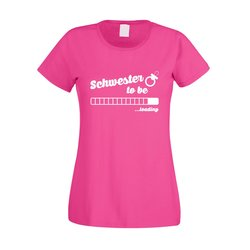 Damen T-Shirt - Schwester to be - loading