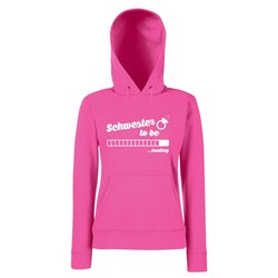 Damen Hoodie - Schwester to be - loading