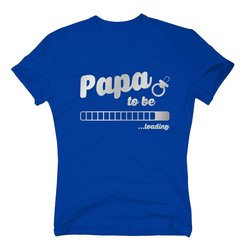 Herren T-Shirt - Papa to be - loading