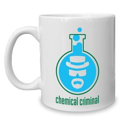 Kaffeebecher - Tasse - BrBa - Chemical Criminal