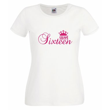Damen T-Shirt - Sweet Sixteen