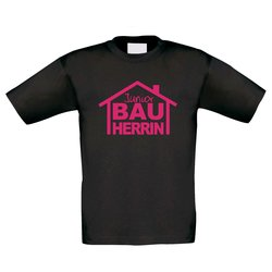 T-Shirt Kinder Junior Bauherrin
