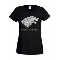 Damen T-Shirt Game of Thrones Winter is coming