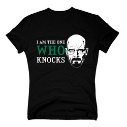 T-Shirt Breaking Bad Heisenberg I´m the one who knocks