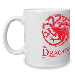 Game of Thrones - Kaffeebecher - Tasse - The Dragon & the...