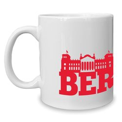 Kaffeebecher - Tasse - Berlin Skyline