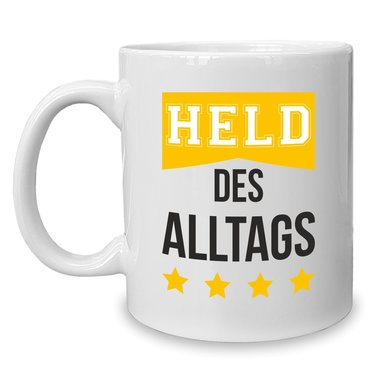 Kaffeebecher - Tasse - Held des Alltags