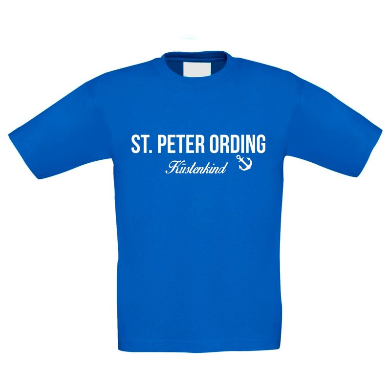 kinder t shirt st peter ording k stenkind. Black Bedroom Furniture Sets. Home Design Ideas