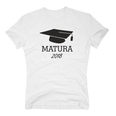 Matura 2018 Herren T Shirt Abschluss Geschenk