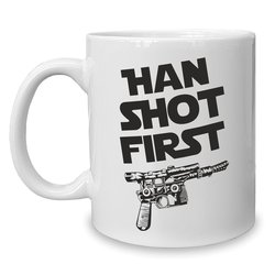 Kaffeebecher - Tasse - Han Shot First