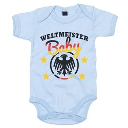 Baby Body - Fußball Weltmeister Baby
