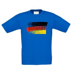 Kinder T-Shirt - Germany Flagge