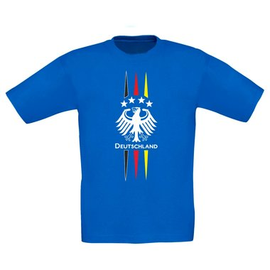Kinder T-Shirt - Fußball Adler - Germany