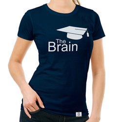 Damen T-Shirt - The Brain