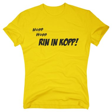 T-Shirt Rin in Kopp!