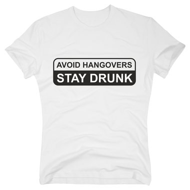 how to get drunk and avoid a hangover