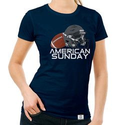 Damen T-Shirt - American Sunday