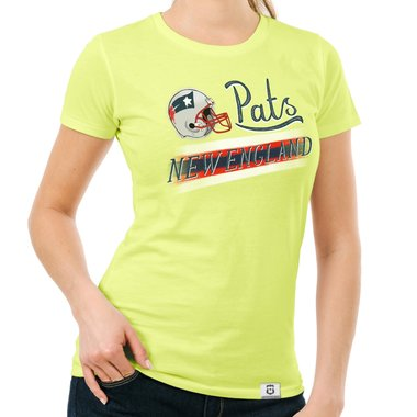 Damen T-Shirt - Pats - New England