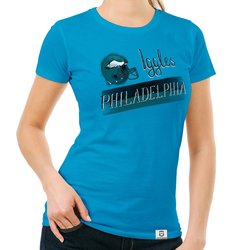 Damen T-Shirt - Iggles - Philadelphia