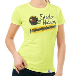 Damen T-Shirt - Steeler Nation - Pittsburgh