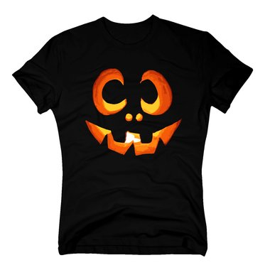 herren t shirt zu halloween mit einem k rbis gesicht. Black Bedroom Furniture Sets. Home Design Ideas