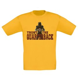 Kinder T-Shirt - Trust the Quarterback