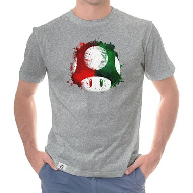 Super Mario Jungen T-Shirt Grau