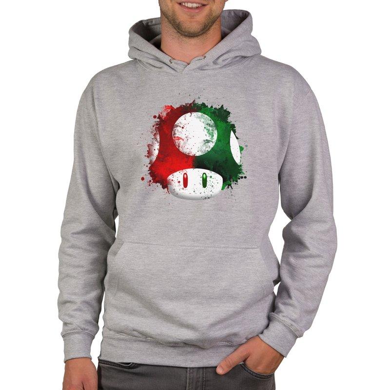 super mario  pilz  herren hoodie