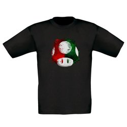 Kinder T-Shirt - Super Mario - Pilz
