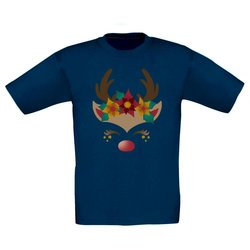 Kinder T-Shirt - Happy Rentier
