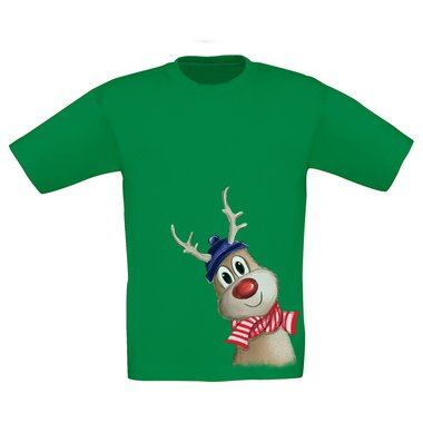 Kinder T-Shirt - Little Rudolph