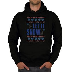 Herren Hoodie - Let it snow