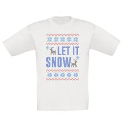 Kinder T-Shirt - Let it snow