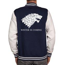 GoT Dragon & Wolf Herren College Jacke