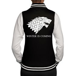 Damen College Jacke - GoT - Winter is coming