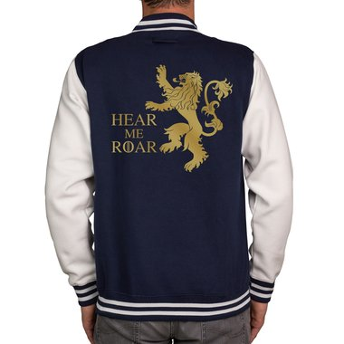 Herren College Jacke - GoT - Hear me Roar