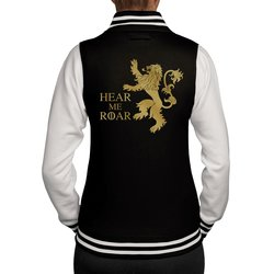 Damen College Jacke - GoT - Hear me Roar