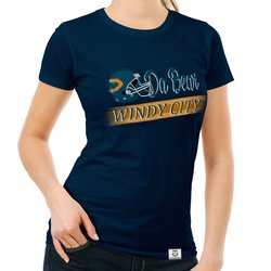 Damen T-Shirt - Da Bear - Windy City