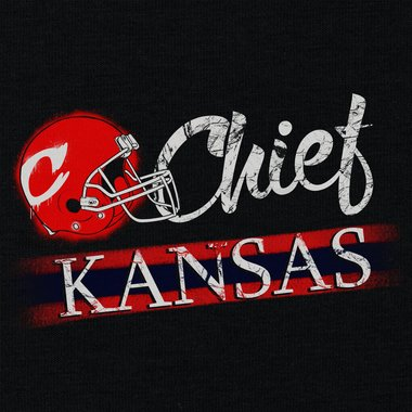 Damen T-Shirt V-Ausschnitt - Chief - Kansas