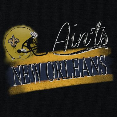 Damen T-Shirt V-Ausschnitt - Aints - New Orleans